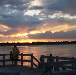 Solnedgang i Øster Hurup